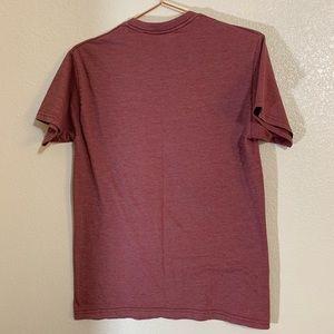 Volcom Shirts - Volcom | Men's Brick Red Graphic Tee Size Small